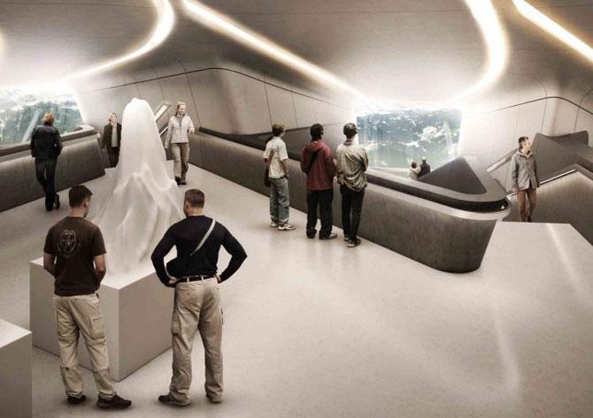 Muzeu in inima muntilor Italiei, de Zaha Hadid - Poza 3