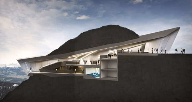 Muzeu in inima muntilor Italiei, de Zaha Hadid - Poza 4