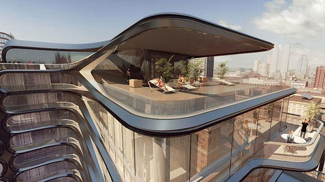 High Line, primul concept Zaha Hadid la New York - Poza 3