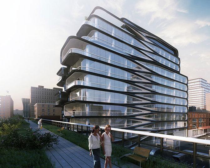High Line, primul concept Zaha Hadid la New York - Poza 4