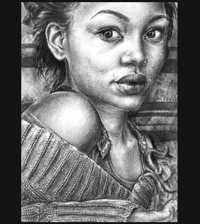 25 de imagini superbe in creion - Poza 19