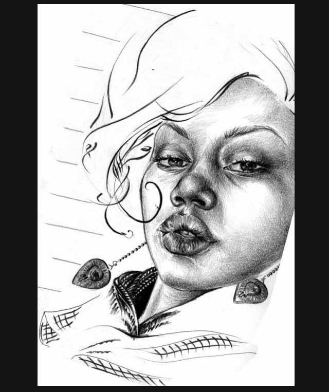 25 de imagini superbe in creion - Poza 24