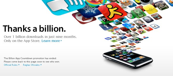 App Store a atins un miliard de download-uri - Poza 1