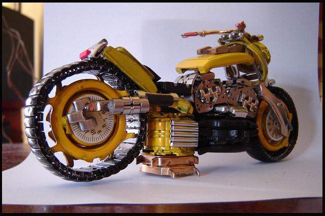 Motociclete din ceasuri - Poza 6