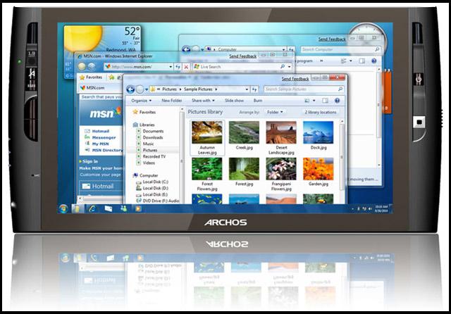 Archos 9: MiniPC cu Windows 7 - Poza 1