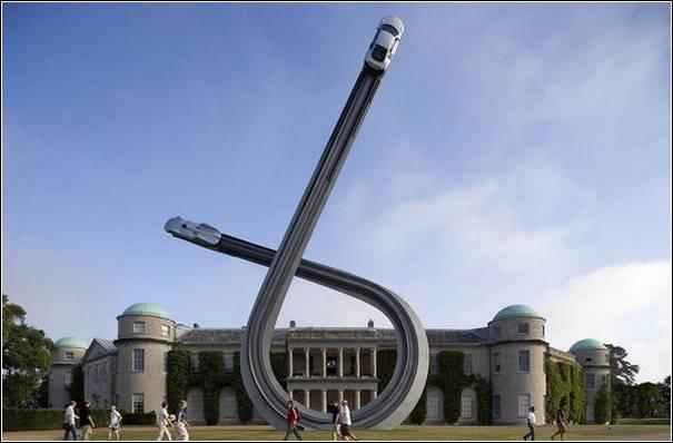 Sculpturi cu masini de Gerry Judah - Poza 5