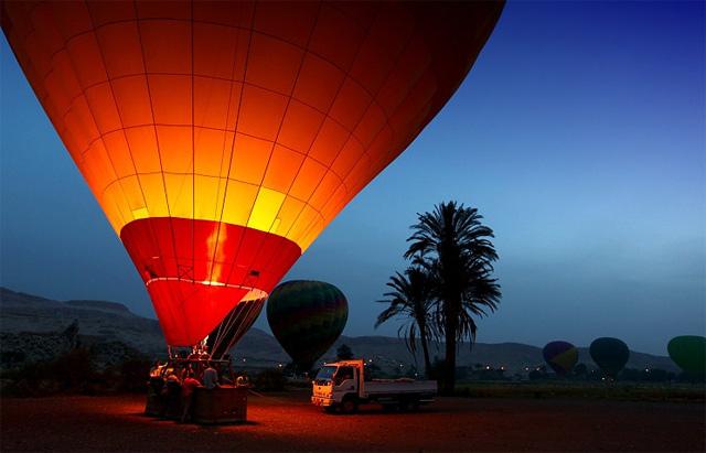 Cu balonul deasupra Egiptului - Poza 2