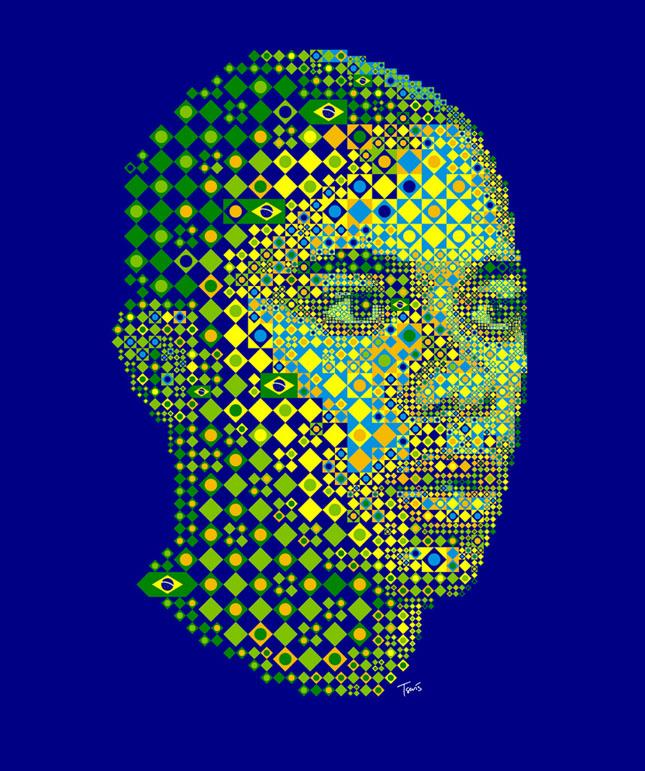 Portrete uimitoare in mozaic - Poza 26