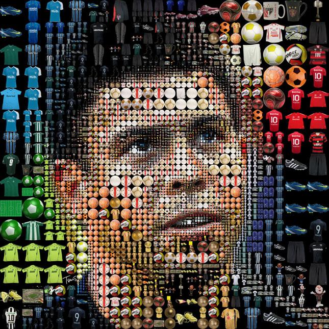 Portrete uimitoare in mozaic - Poza 27