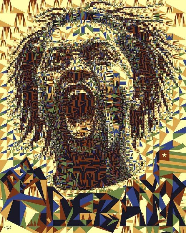 Portrete uimitoare in mozaic - Poza 29