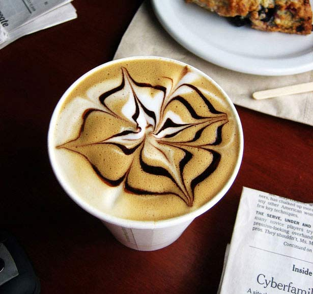 40 de desene in cestile de cafea - Poza 10