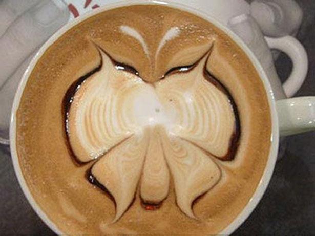 40 de desene in cestile de cafea