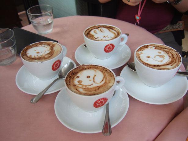 40 de desene in cestile de cafea - Poza 16