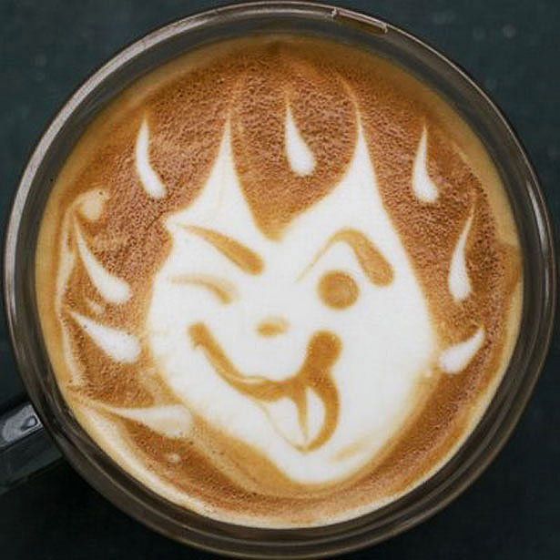 40 de desene in cestile de cafea - Poza 22