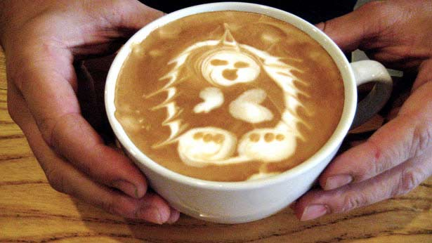 40 de desene in cestile de cafea - Poza 28