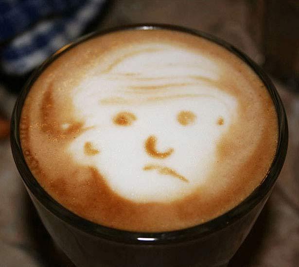 40 de desene in cestile de cafea - Poza 37