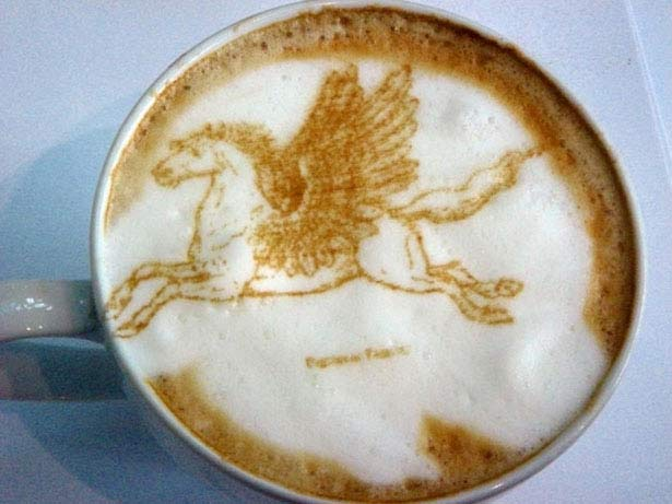 40 de desene in cestile de cafea - Poza 38
