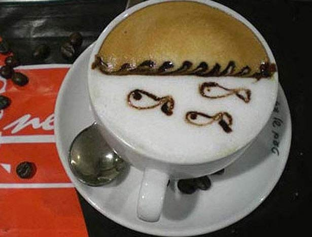 40 de desene in cestile de cafea - Poza 8