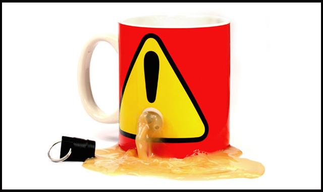 Plug Mug: Cana cu antifurt - Poza 1