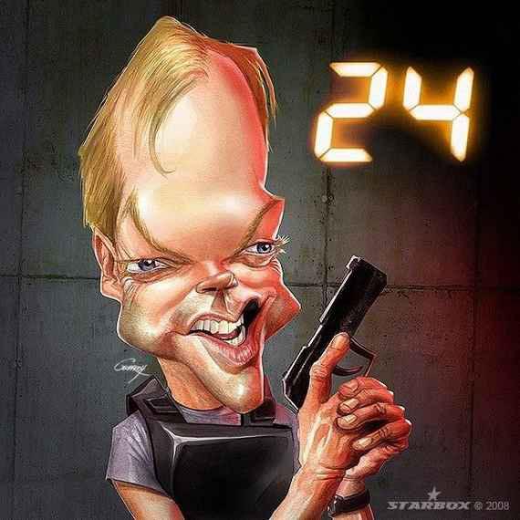 21: Caricaturi cu vedete