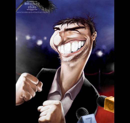 Celebritati in caricaturi amuzante - Poza 18