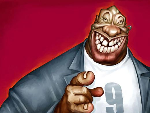Celebritati in caricaturi amuzante - Poza 23