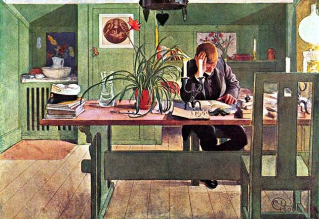 Picturi superbe de Carl Larsson - Poza 12