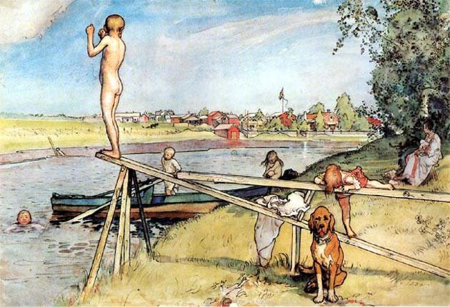 Picturi superbe de Carl Larsson - Poza 11
