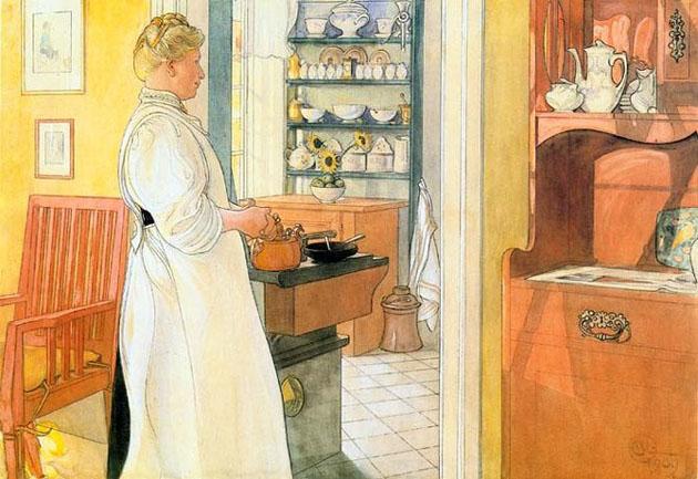 Picturi superbe de Carl Larsson - Poza 10