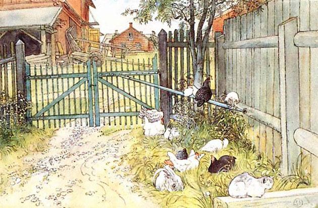 Picturi superbe de Carl Larsson - Poza 13