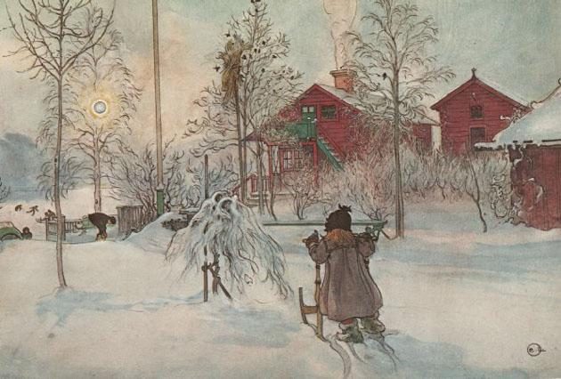 Picturi superbe de Carl Larsson - Poza 14