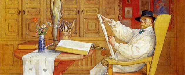 Picturi superbe de Carl Larsson - Poza 15