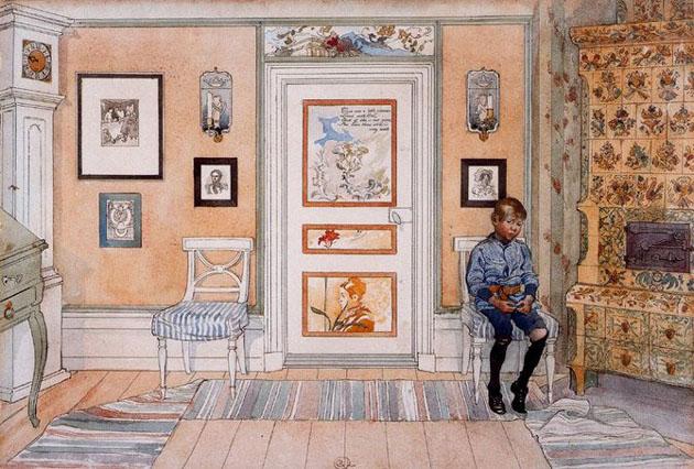 Picturi superbe de Carl Larsson - Poza 4