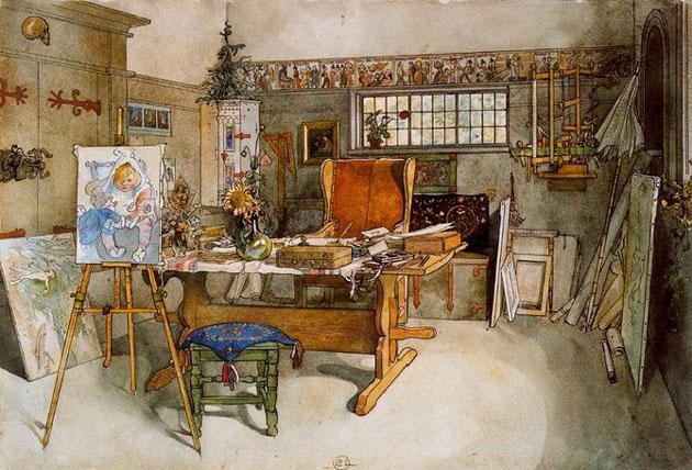 Picturi superbe de Carl Larsson - Poza 5