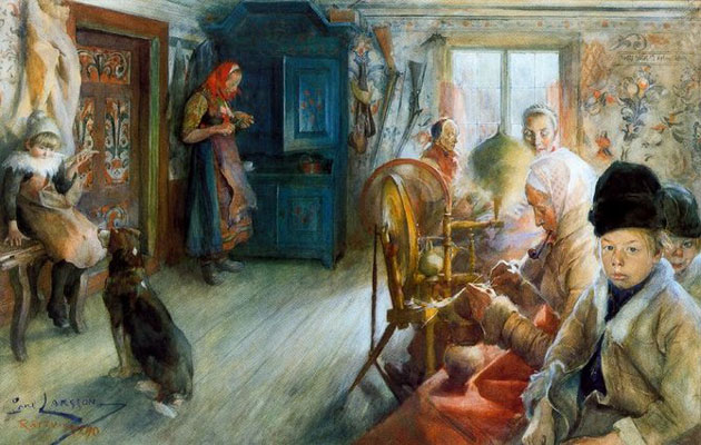 Picturi superbe de Carl Larsson
