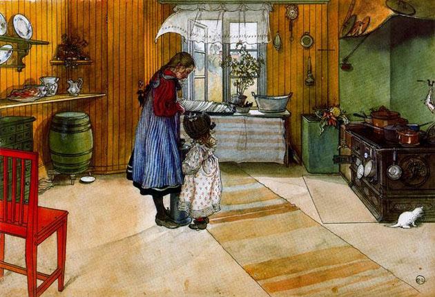Picturi superbe de Carl Larsson - Poza 7