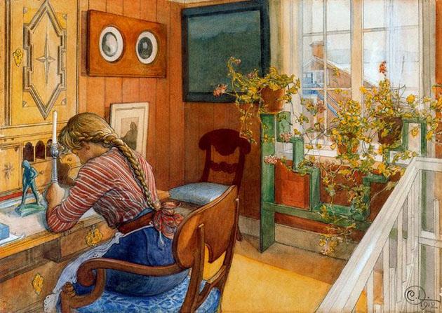 Picturi superbe de Carl Larsson - Poza 8