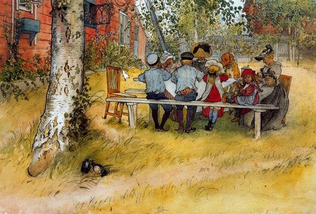 Picturi superbe de Carl Larsson - Poza 9