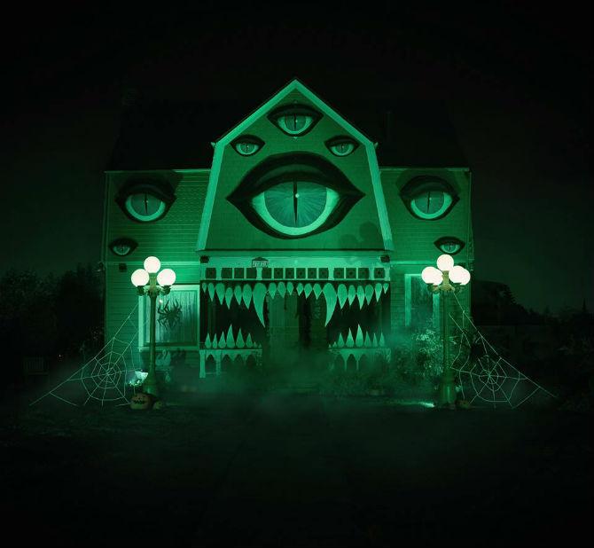 O casa a groazei, cum nu s-au mai vazut
