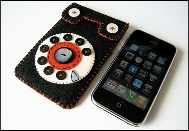Handmade: Husa iPhone 3G - Poza 1