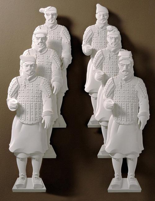 25 de sculpturi din hartie - Poza 4