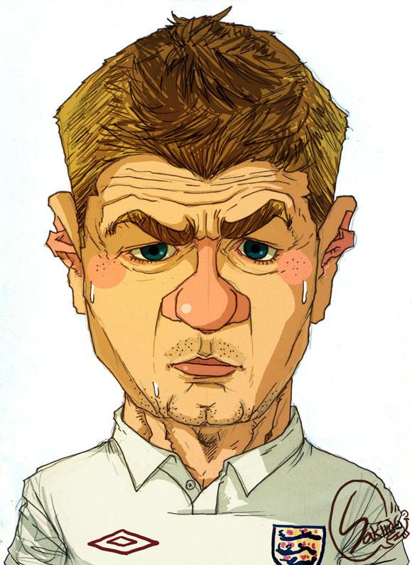 16 fotbalisti in caricaturi. Ii recunosti? - Poza 7