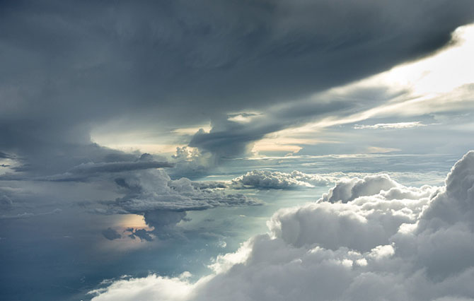 33 de poze extraordinare cu nori - Poza 11