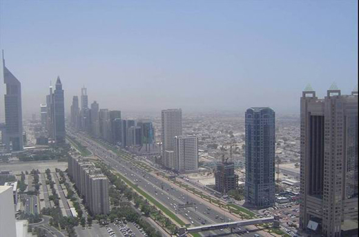 Dubai, vazut din elicopter - Poza 2