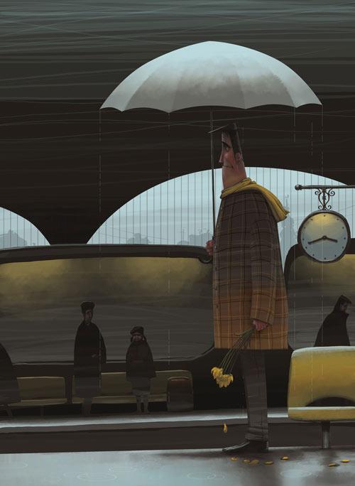 45 de desene minunate: Denis Zilber