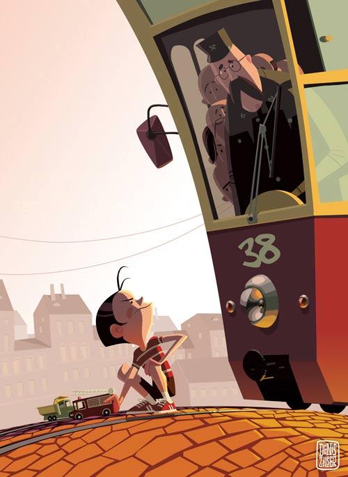 45 de desene minunate: Denis Zilber - Poza 38