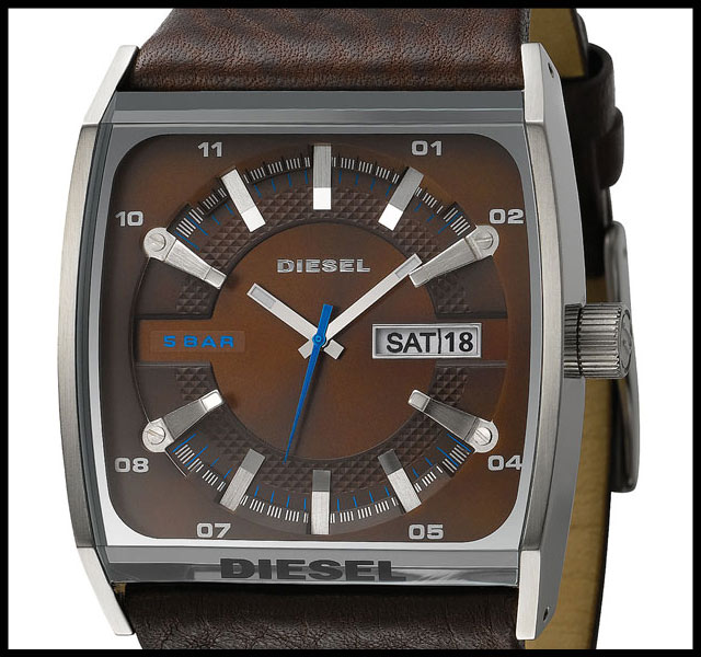 DIESEL Cushion Watch - Poza 1