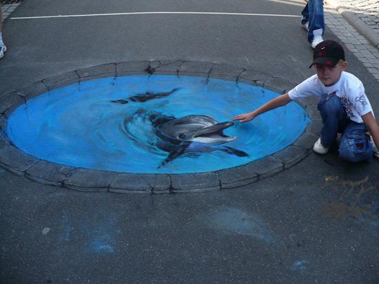 25 de desene 3D pe asfalt - Poza 6