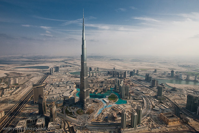 Dubai, vazut din elicopter - Poza 3