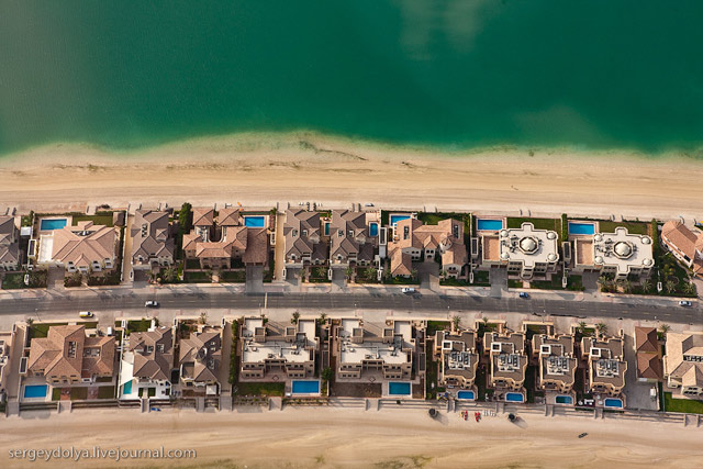 Dubai, vazut din elicopter - Poza 15